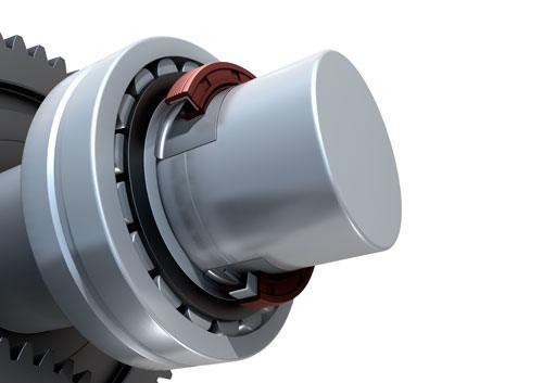 SKF Radial Wellendichtring Bauform 17X40X10 HMSA10 RG mit zus/ätzlicher Schutzlippe